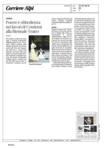 Corriere Alpi - Condemi