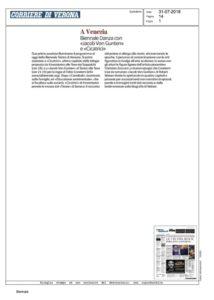 Corriere Verona - Kronoteatro e Condemi